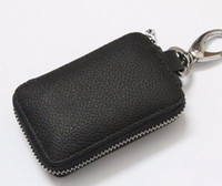 Wholesale Universal Car Smart Key Chain Leather Holder Cover Case Fob Remote quot