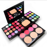 Wholesale makeup set color eye shadow color lip gloss color blush powder foundation Cosmetic Set color palette S482