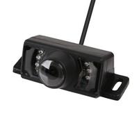 Impermeable 7 LED DC 12V 420 líneas de televisión CMOS HD amplio ángulo de visión de inversión de cámara de copia de seguridad IR LED Night Car cámara de visión trasera