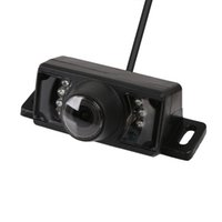 Wholesale Waterproof LED DC V TV lines CMOS HD Wide Viewing Angle Reversing Backup Camera IR LED Night Car Rear View Camera