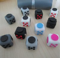 Wholesale 11 color New Fashion Fidget cube the world s First American Original Decompression Anxiety Toys