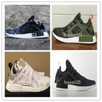 band duck - Nmd XR1 Olive Green Duck Camo Pack Primeknit Real Boost Men Running Shoes Frees Shipping
