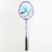 Wholesale PRO BLUE Badminton Rackets Lbs U Graphite Carbon Offensive Type G4 Super Soft PRO BLUE Badminton Rackets