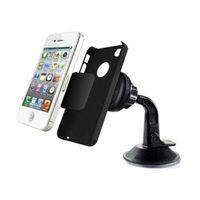Universal 360 rotación auto parabrisas teléfono móvil montaje imán magnético titular Soporte Movil para iPhone Samsung Galaxy LG