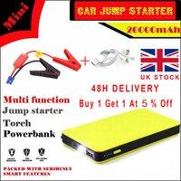 Wholesale 12V mAh Car Jump Starter Pack Booster Charger Battery Power Bank FSS UK Now
