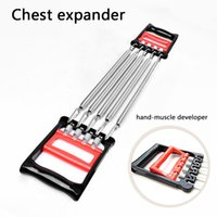 arm developers - spring exerChest exercise equipment The chest expander spring arm strength device pull rope multifunctional body building exercise household