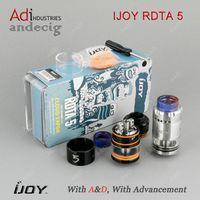 Auténtico IJOY RDTA 5 rta rba rta para el humo al85 gx350 Hcigar vt250s IPV D4 vapor mod de la caja vs tfv12 tfv8
