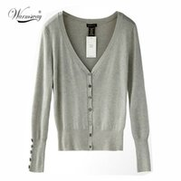 american apparel cardigans - HOT American Apparel Brand Quality Shell button KNIT TOP Womens Loose Knitting Cardigan Knitting Shirt Shawl Shrugs WS