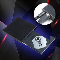 Wholesale 20set Portable External Slim USB DVD RW CD RW Burner Recorder Optical Drive CD DVD ROM Combo Writer For Tablets PC