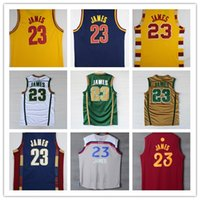 Wholesale New Leb James Christmas Jersey For Lebron James College Jerseys Throwback Lebron James Jersey S XXL