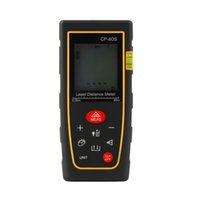 Wholesale 40M Handheld Digital telemetro Laser distance meter Rangefinder Range finder Bubble level Tape measure Diastimeter medidor laser