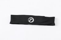 Wholesale Sports running anti perspirant headband moisture absorption perspiration pure color tenia
