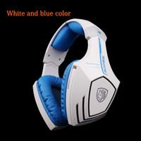 Casque stéréo Trois couleurs en option SADES A60 Jeu casque fonction de vibration et son 7.1 Surround professionnel casque écouteurs