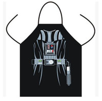 Wholesale Apron Star Wars Giant apron Boba fett Wonder women Anime Cartoon Character Series Kitchen Apron Funny Personality Cooking Gift Mermaid