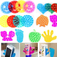 Wholesale Hot Sell Multifunctional Super strong suction double sides anti slip sucker Magic pvc suction cup bathroom mat