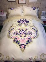 bedding country quilt - Flower Bedding Set Twin Full Queen King Quilt Cover Flat Sheet Pillowcases