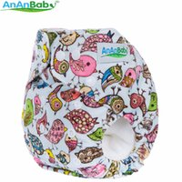 Wholesale Anaby New Styles Super Minky Cloth Diapers Cover Reusable Nappy Baby Cloth Diaper Nappies Without Changing Pads