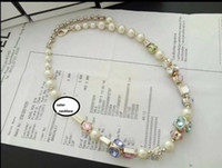 Wholesale High quality fashion brand color necklace for women Short necklaces