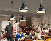 big dining room tables - KIRIN Industrial Elegant Black Big Shade Modern1 Light Pendant Lamp for Dinning Table Bar Bulb Not Included Rustic