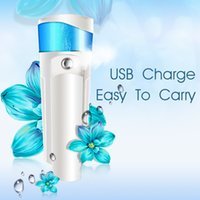 Wholesale Portable Beauty Handy Nano Mister Spray Nano Facial Sprayer For Face Skin Care With USB Power Bank Facial Steamer By DHL