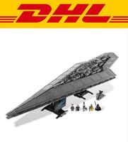 Wholesale DHL Star Wars Super Star Destroyer D Model Building Figure Toys building blocks Kids Toy