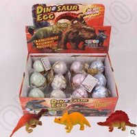 Wholesale 4 Designs cm box Growing Dinosaur Egg Pet Hatchimals Animals Eggs Growing Dinosaur Creative Hatch Out Animals CCA5340 set