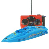 Wholesale Remote control high speed racing boat double Parent child interaction toy rc boats electric with play pool