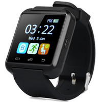 Wholesale Bluetooth Smartwatch U8S Outdoor Sports Watch with Remote Camera for iPhone s Samsung Galaxy S7 Note HTC Android Phone Smartphones