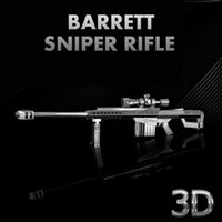 best rifle laser - Metal Works DIY Laser Metal Models Assemble Miniature Metal D Barrett Sniper Rifle Jigsaw Puzzle For Decoration Best Gifts