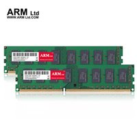 al por mayor dimm ddr3 8gb-ARM Ltd DDR3 8GB 1600Mhz Memoria de escritorio 1333Mhz CL9-CL11 1.5V DIMM RAM 1333 4G 2GB 1600 Garantía de por vida