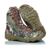 2017 nuevos cargadores tácticos militares al aire libre del deporte del ejército de los hombres del ejército del desierto botas botas otoño invierno viajes de senderismo zapatos