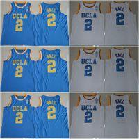 Basketball basketball jersey styles - UCLA Bruins Russell Westbrook Lonzo Ball Zach LaVine Blue White Jersey New Style High Guality Stitched Jerseys