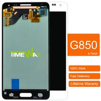 alpha shipping - Gold for Samsung Galaxy Note Galaxy Alpha G850 LCD Display Touch Screen free DHL shipping Digitizer Full Assembly