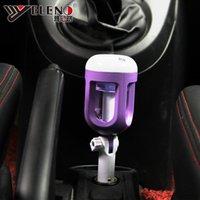 Wholesale 2017 Nanum Car Plug Air Humidifier Purifier Vehicular essential oil ultrasonic humidifier Aroma mist car fragrance Diffuser free DHL