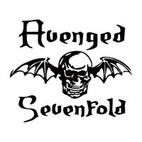 avenged sevenfold band - Hot Sale For Avenged Sevenfold Death Bat Car Styling Decal Vinyl Sticker Jdm Band Car Window Accessories Graphics