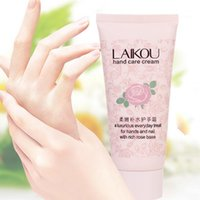 Wholesale g Rose with Natural Rose Laikou Hand Care Lotion Oil Nourishing Hydrating Soft Hand Cream Hot New
