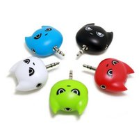 audio space - space man Audio Splitter Ports mm Stereo Audio Headset b Splitter for phone Audio equipment iPod MP3 Mp4