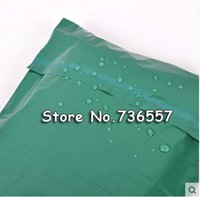 Wholesale cm green Poly Mailer Plastic Shipping Mailing Bag Envelopes Polybags Strong Plastic Seal Postage Bags