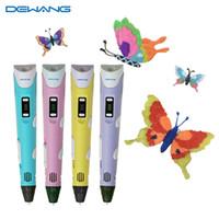 Wholesale 3D Pen Printer Pen Drawing Pen Kids Arts Handcrafts Christmas Gifts Safe Toy