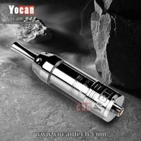 Precio de 94f yocan-Los vaporizadores herbarios del atomizador de la hierba seca original de <b>Yocan 94F</b> con las bobinas adicionales del reemplazo 94F caben 510 baterías del hilo Envío libre