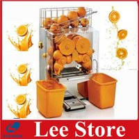 220/110v automatic juicers - hot sale automatic orange juicer machine with ce commercial automatic orange juicer machine by dhl shipping