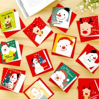 Wholesale 2016 High grade good texture can be customized Love creative festive Christmas greeting cards