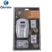 Auto auto door sensor - High quality Motion Sensor Detector Alarm Wireless IR Infrared Sensor Remote Security System Indoor Outdoor Alarm Sensor