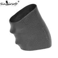airsoft handguns - Tactical Pistol Rubber Grip Glove Cover Sleeve Anti Slip for Most of Glock Handguns Airsoft Hunting Accessories for Glock