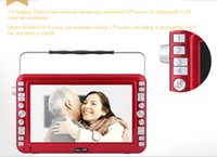 Wholesale New HD mobile DVD player portable DVD players mini TV MP4 FM Radio Video player Gift for parents Opera Player Freeshipping