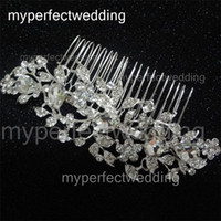 best hair photos - Vintage Bridal Hair Comb High Quality Real Photos High Quality Crystal Hair Accessory Wedding Hair Jewelry Headdress Factory Best Price Hot