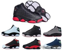 army games online - 2016 cheap air retro XIII man Basketball Shoes red Bred He Got Game Black Sneaker Sport Shoes Online Sale Size