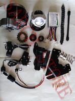 Wholesale MY1016Z3 V W DC brush motor DIY quot quot electric bike motor electric bicycle kit electric bike conversion kit