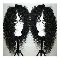Cheap loose curly synthetic lace front wigs Best cosplay wig lace front