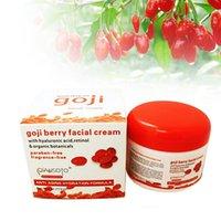 Wholesale Hyaluronic Acid Goji Face Cream Chinese Wolfberry Medlar Multi effect Anti wrinkle Cream Inhibit Activity Of tyrosinase